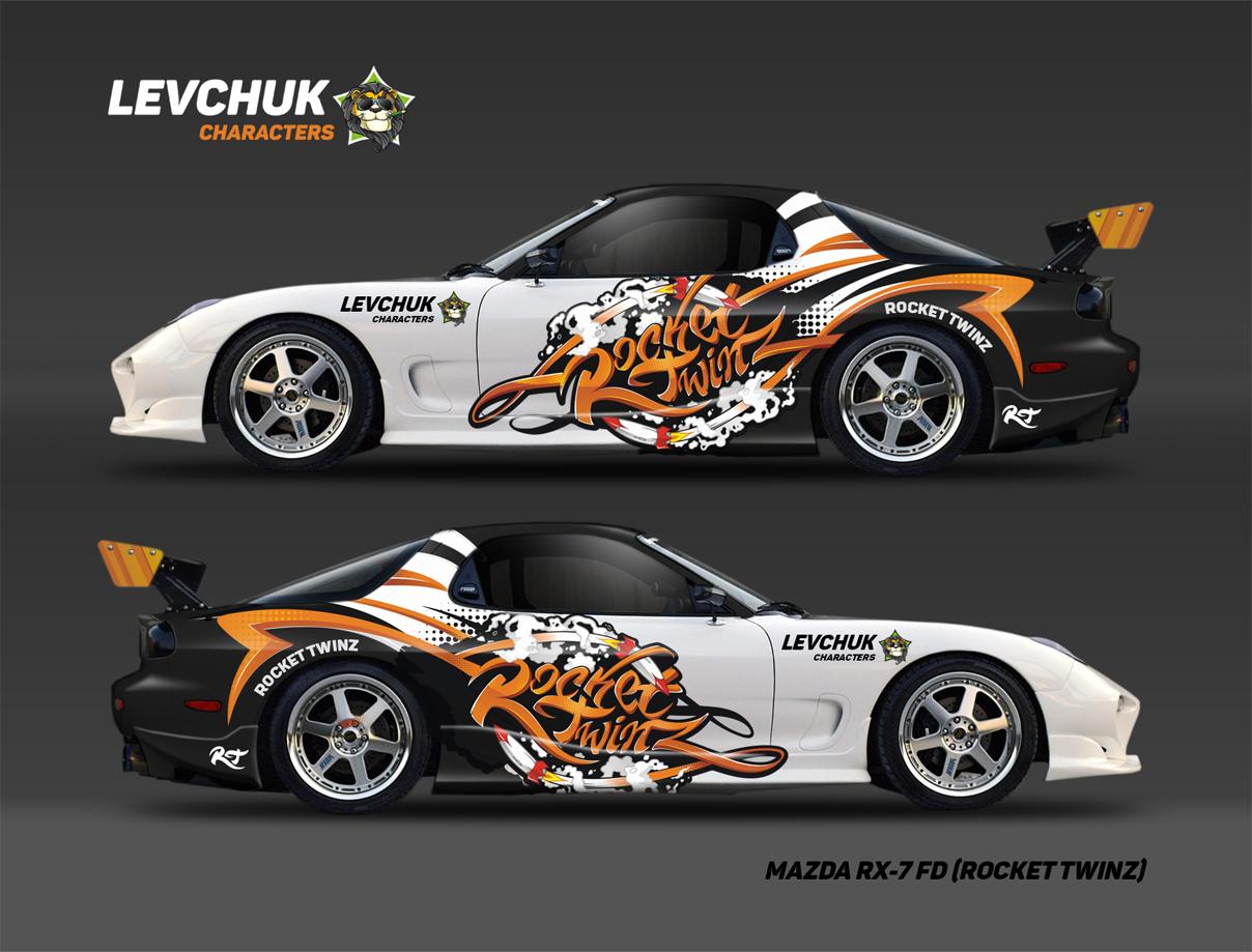 Rocket Twinz / Разработка винила на авто