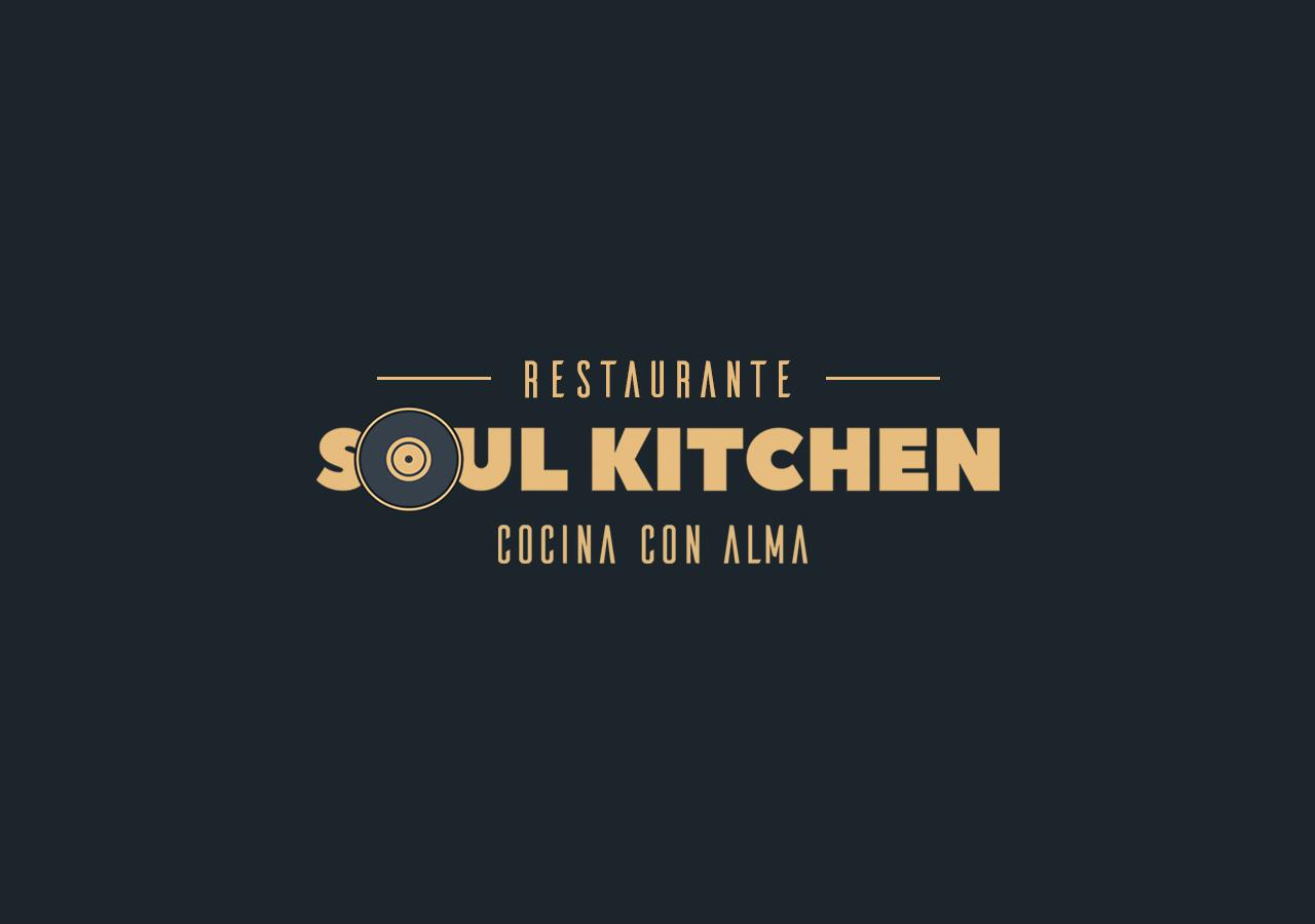 Логотип и Фирменный стиль ресторана Soul Kitchen