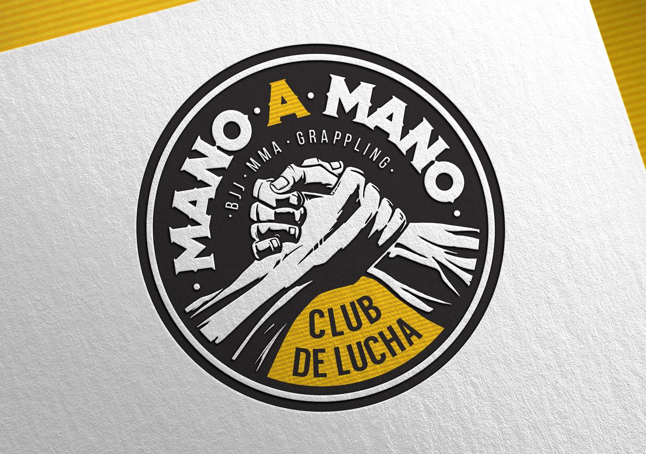 Логотип и Фирменный стиль Mano-A-Mano