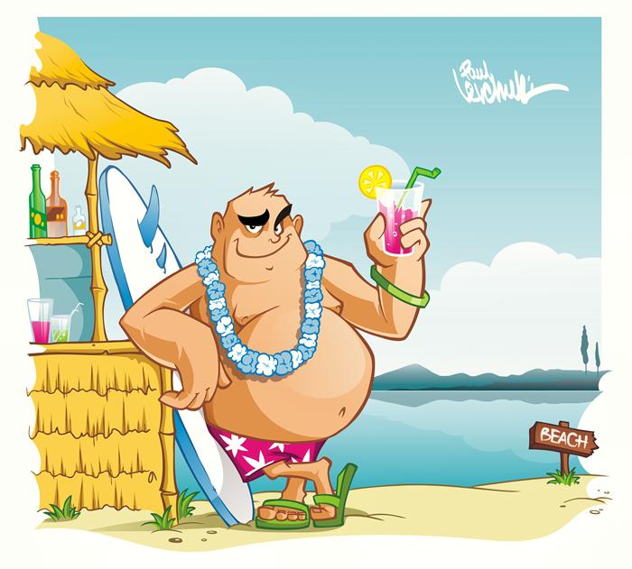 Морские каникулы.