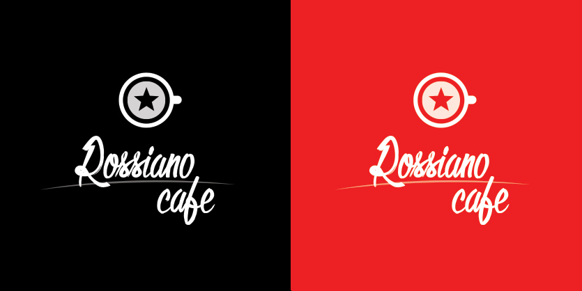 Логотип для кофейного бренда «Rossiano cafe». фото f_21057c84246e594c.jpg