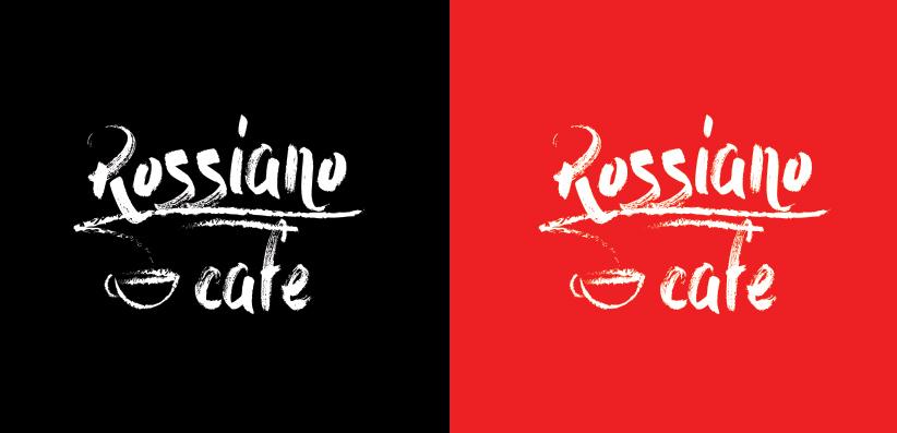 Логотип для кофейного бренда «Rossiano cafe». фото f_74357c8423c4ddd5.jpg