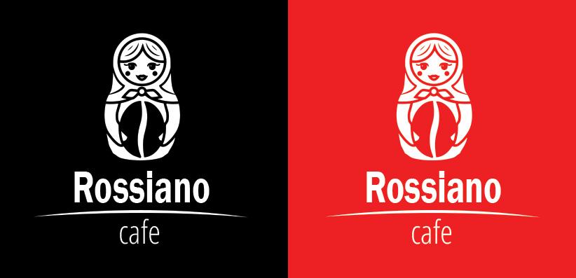 Логотип для кофейного бренда «Rossiano cafe». фото f_83257c8424b63897.jpg