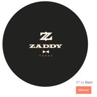 Zaddy Vodka (конкурс на 99 design, 1 место) USA