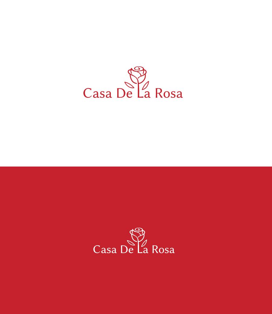 Логотип + Фирменный знак для элитного поселка Casa De La Rosa фото f_2345cd534e57fac3.jpg