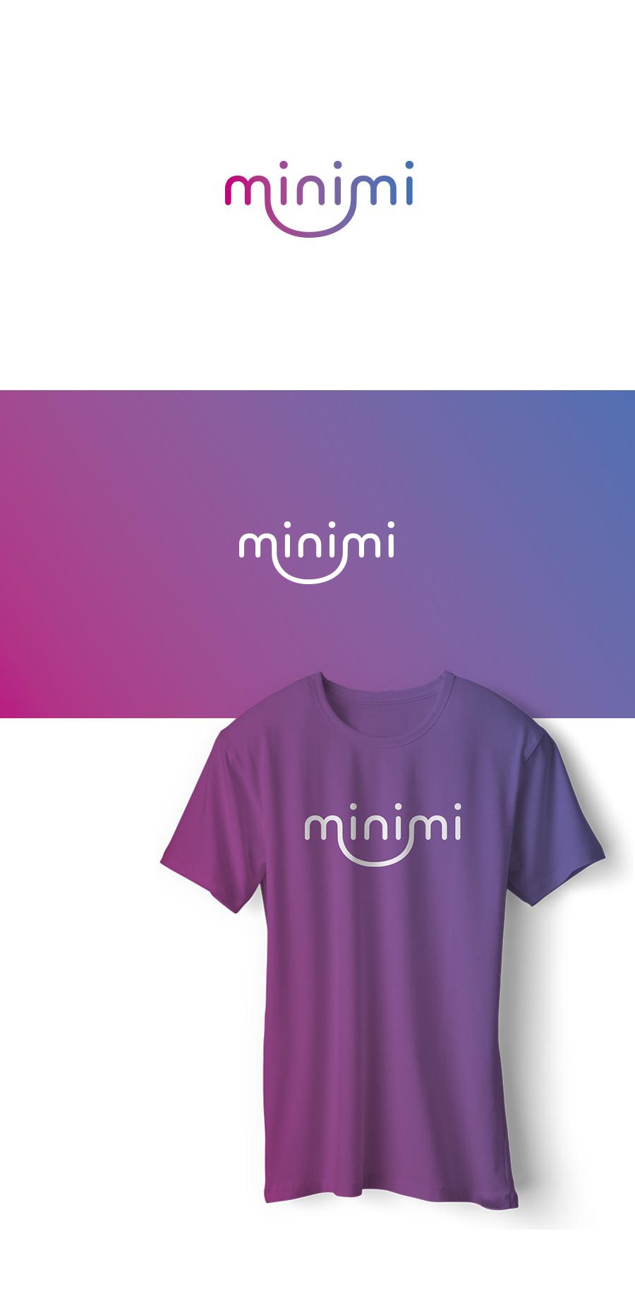 Цель: Разработать логотип детской дизайнерской одежды Мinimi фото f_4705b24c808bbac7.jpg