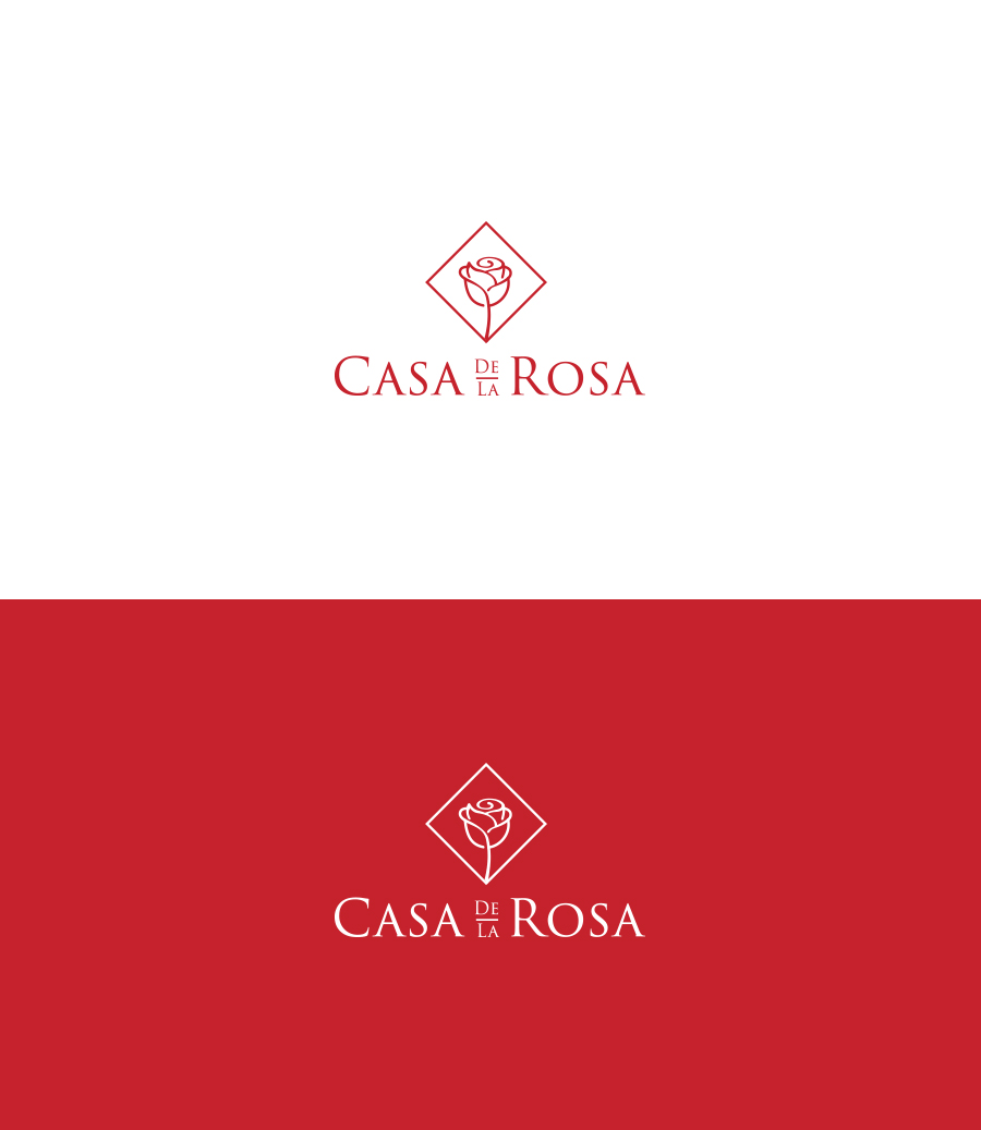 Логотип + Фирменный знак для элитного поселка Casa De La Rosa фото f_5785cd534ea748fb.jpg