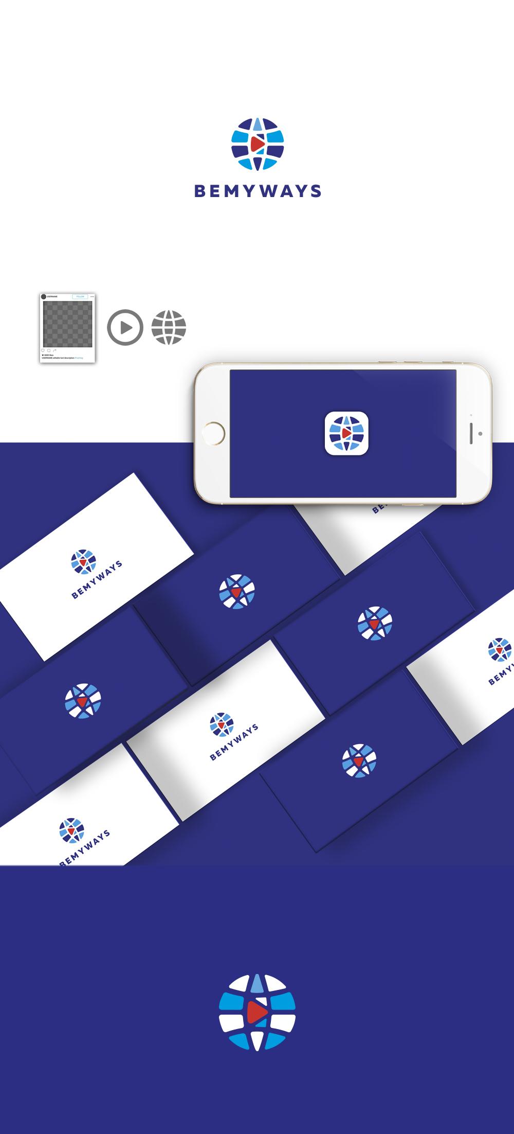 Разработка логотипа и иконки для Travel Video Platform фото f_7295c386fe60e5b2.jpg