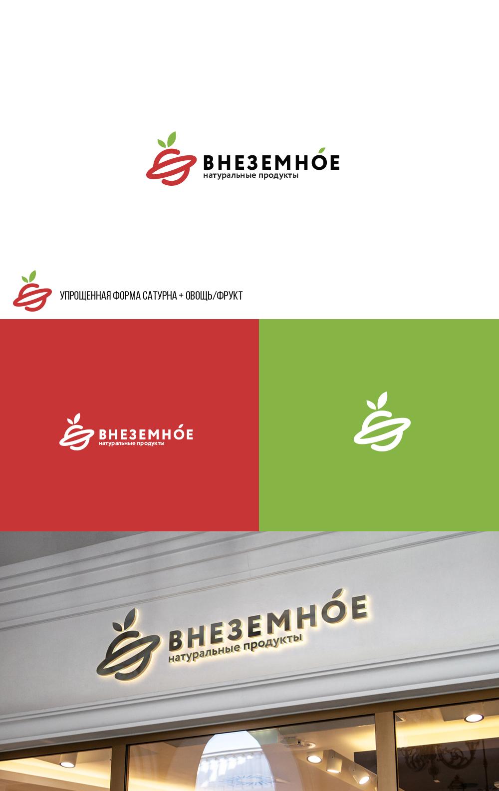 """Логотип и фирменный стиль """"Внеземное"""" фото f_9775e771cf0e7b4b.jpg"""