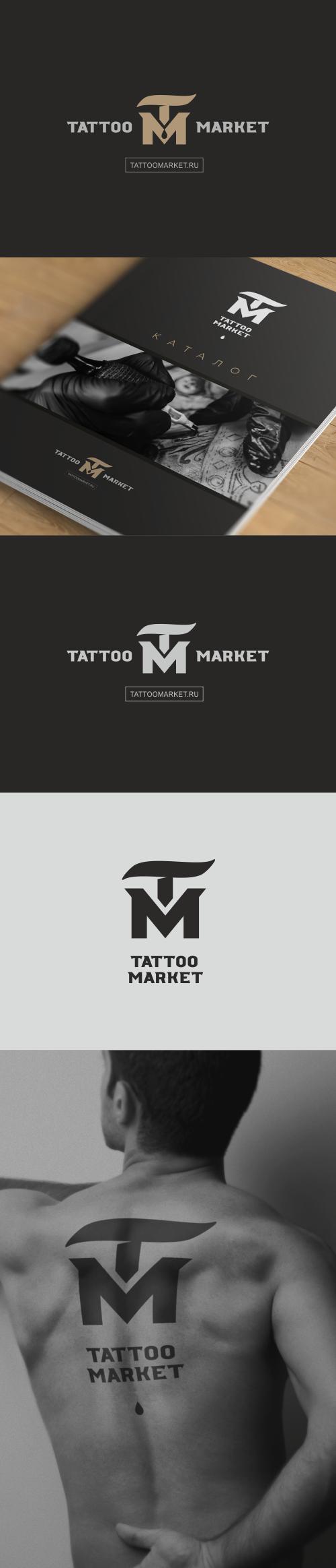 Редизайн логотипа магазина тату оборудования TattooMarket.ru фото f_4495c3d797bc9c94.png