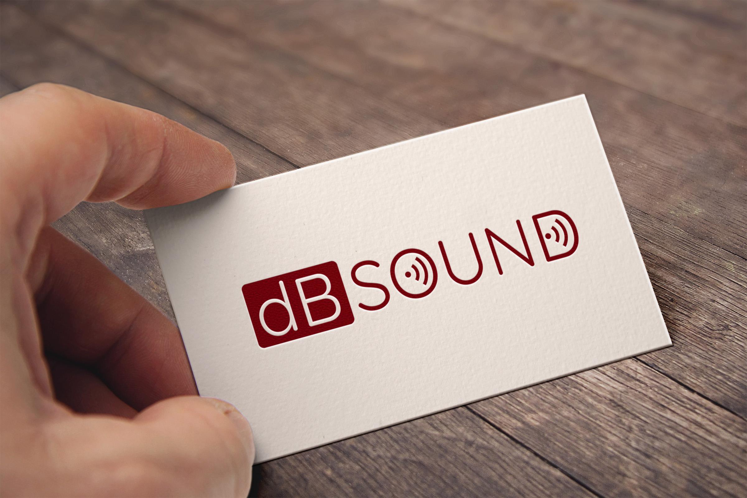 Создание логотипа для компании dB Sound фото f_09159b8a601cd3b4.jpg