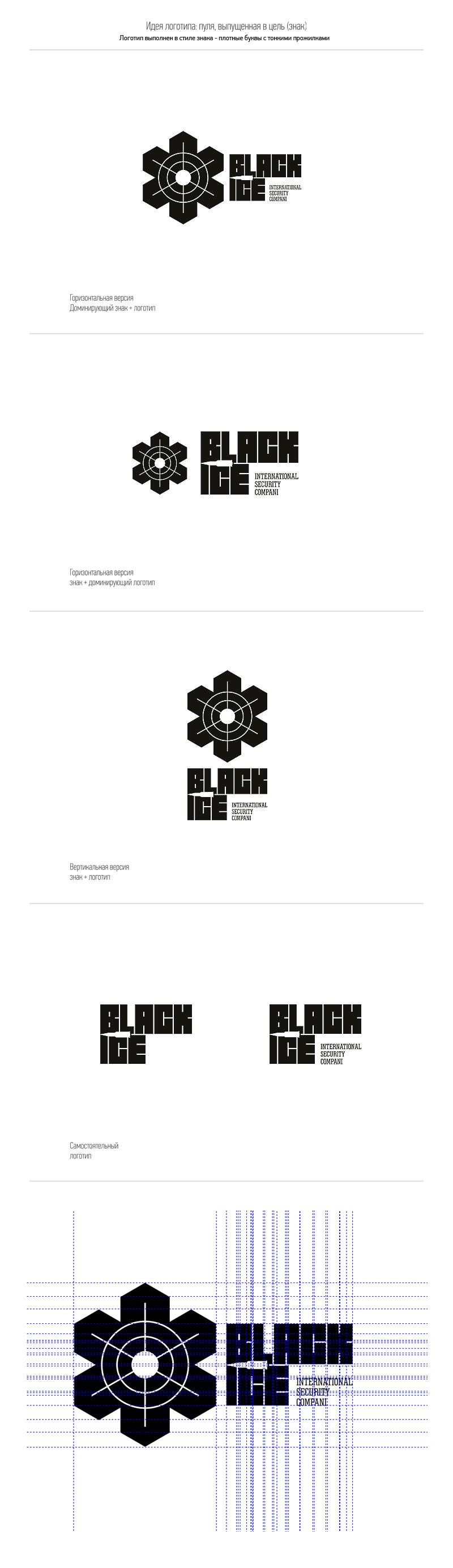 """Логотип + Фирменный стиль для компании """"BLACK ICE"""" фото f_0195718b69385c5f.jpg"""