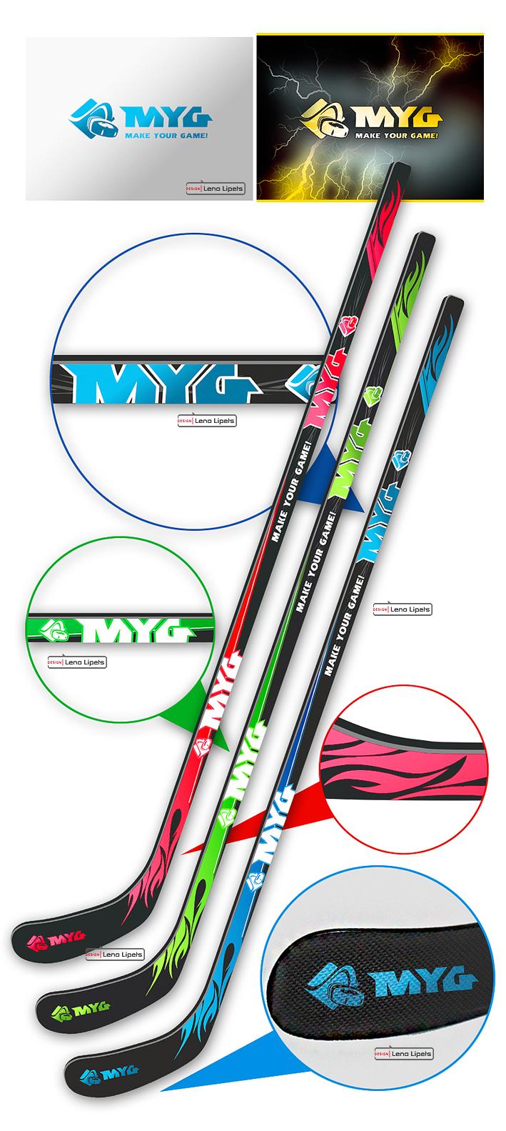 Вариант: товары для зимнего спорта «MYG» (MAKE YOUR GAME!)