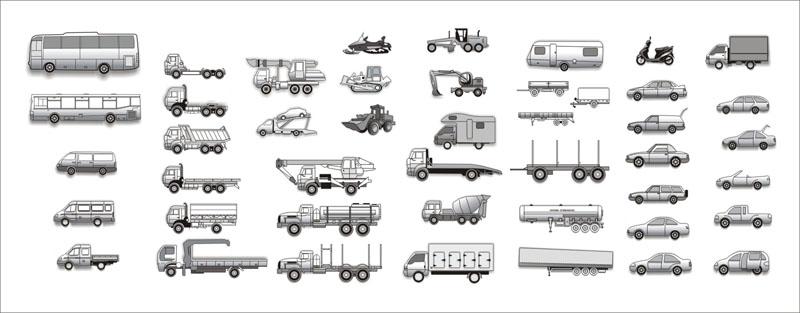 Машины для сайта