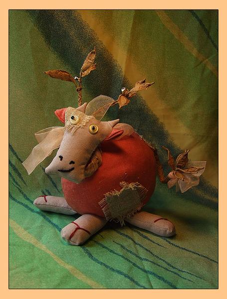 Коровка с бубенцами