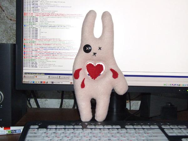 Заяц с сердцем разбитым