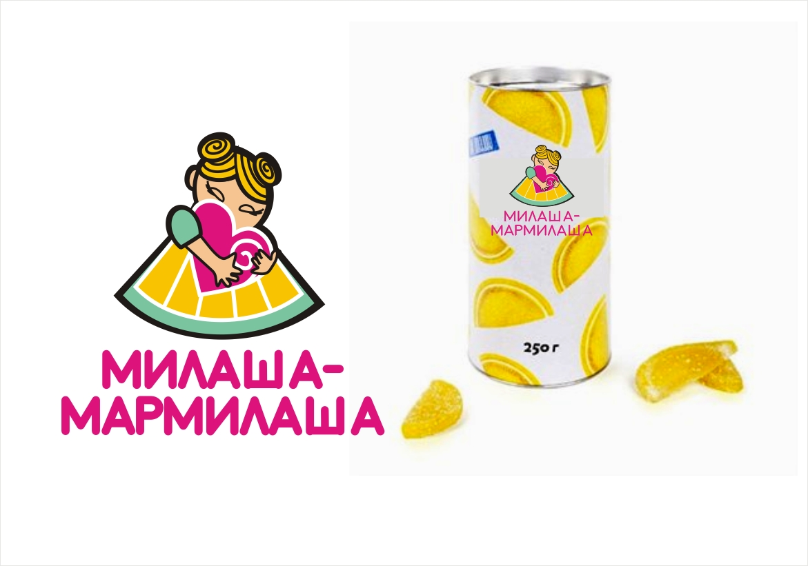 "Логотип для товарного знака ""Милаша-Мармилаша"" фото f_7155877e485e6794.jpg"