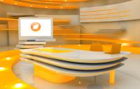 Rebranding of TV channel (interior)