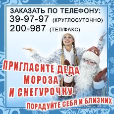 Баннер - Дед мороз