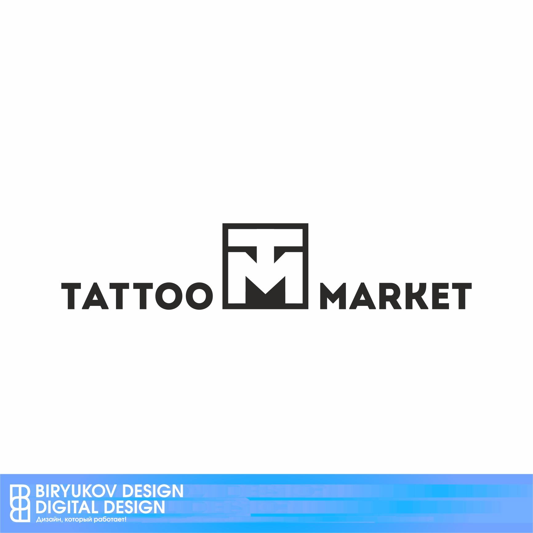 Редизайн логотипа магазина тату оборудования TattooMarket.ru фото f_8095c3a4bc39db58.jpg