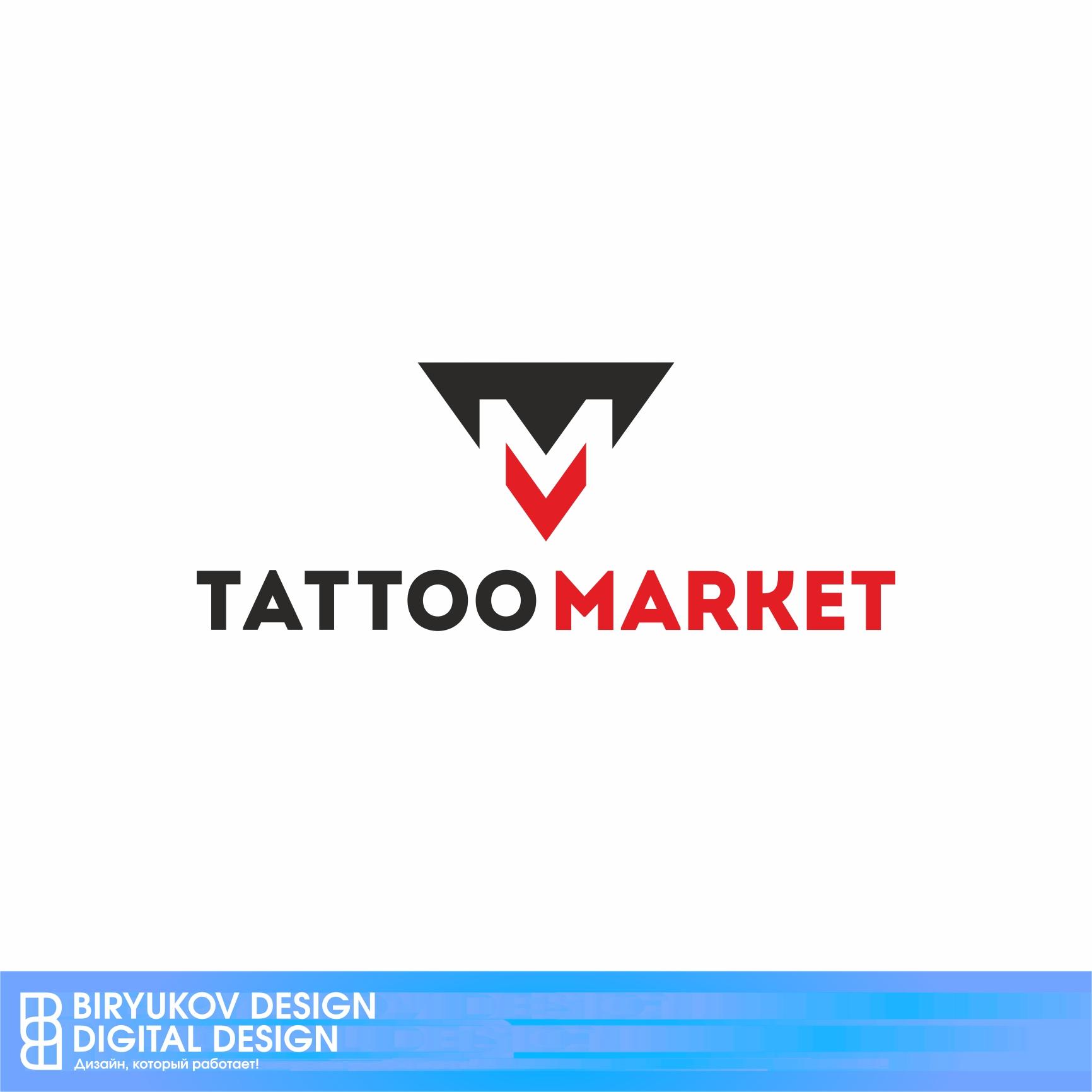 Редизайн логотипа магазина тату оборудования TattooMarket.ru фото f_8445c3a4bc0e4fa1.jpg