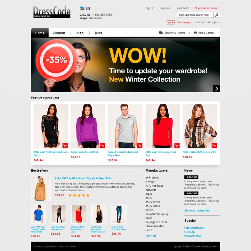 DressCode Fashion online shop