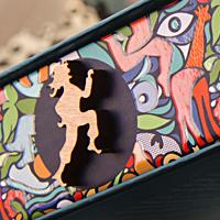 Логотип и упаковка 3-х серий знаменитых деревянных пазлов DaVICI