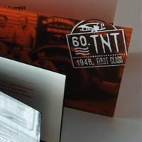 Открытка и приглашение компании TNT