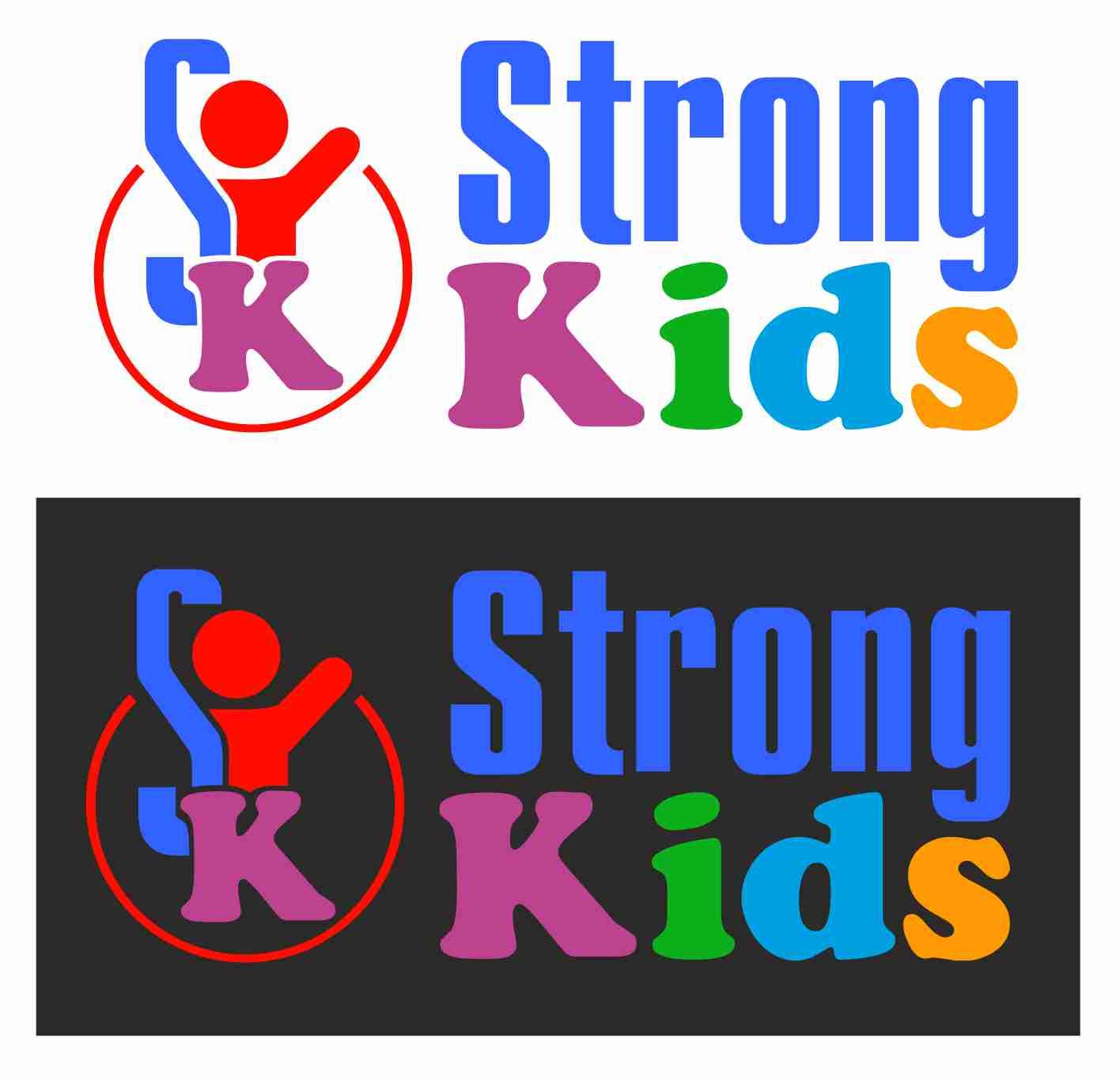 Логотип для Детского Интернет Магазина StrongKids фото f_1455c7541afac4f5.jpg