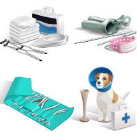 Векторные иконки медицинской тематики(Adobe illustrator)