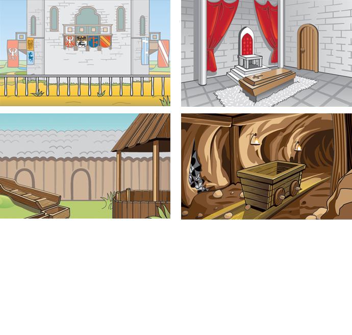 локации для игры 2 (Adobe illustrator)