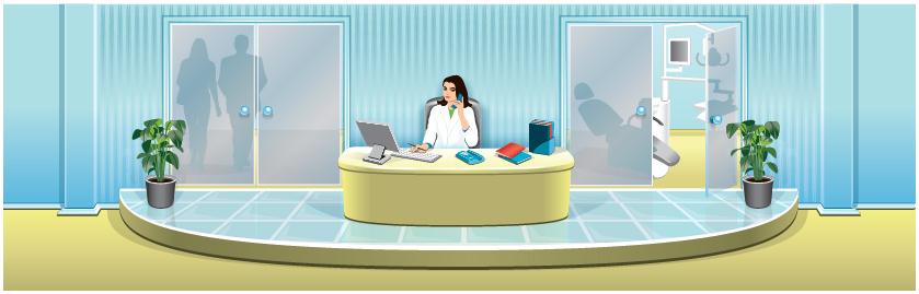для стоматологии (Adobe illustrator)