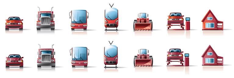 Лизинг-Иконки (Adobe illustrator)