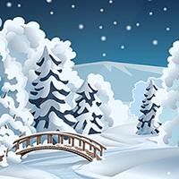 Зима (Adobe illustrator)