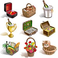 Иконки подарки (Adobe illustrator) - Продается!