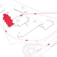 схема проезда (Adobe illustrator)