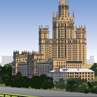 для INTITLE Москва панорама (Adobe illustrator)