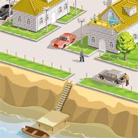 иллюстрация домиков (Adobe illustrator)
