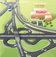 для сайта карта проезда (Adobe illustrator)