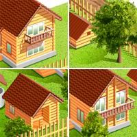План расстояния между строений (Adobe illustrator)