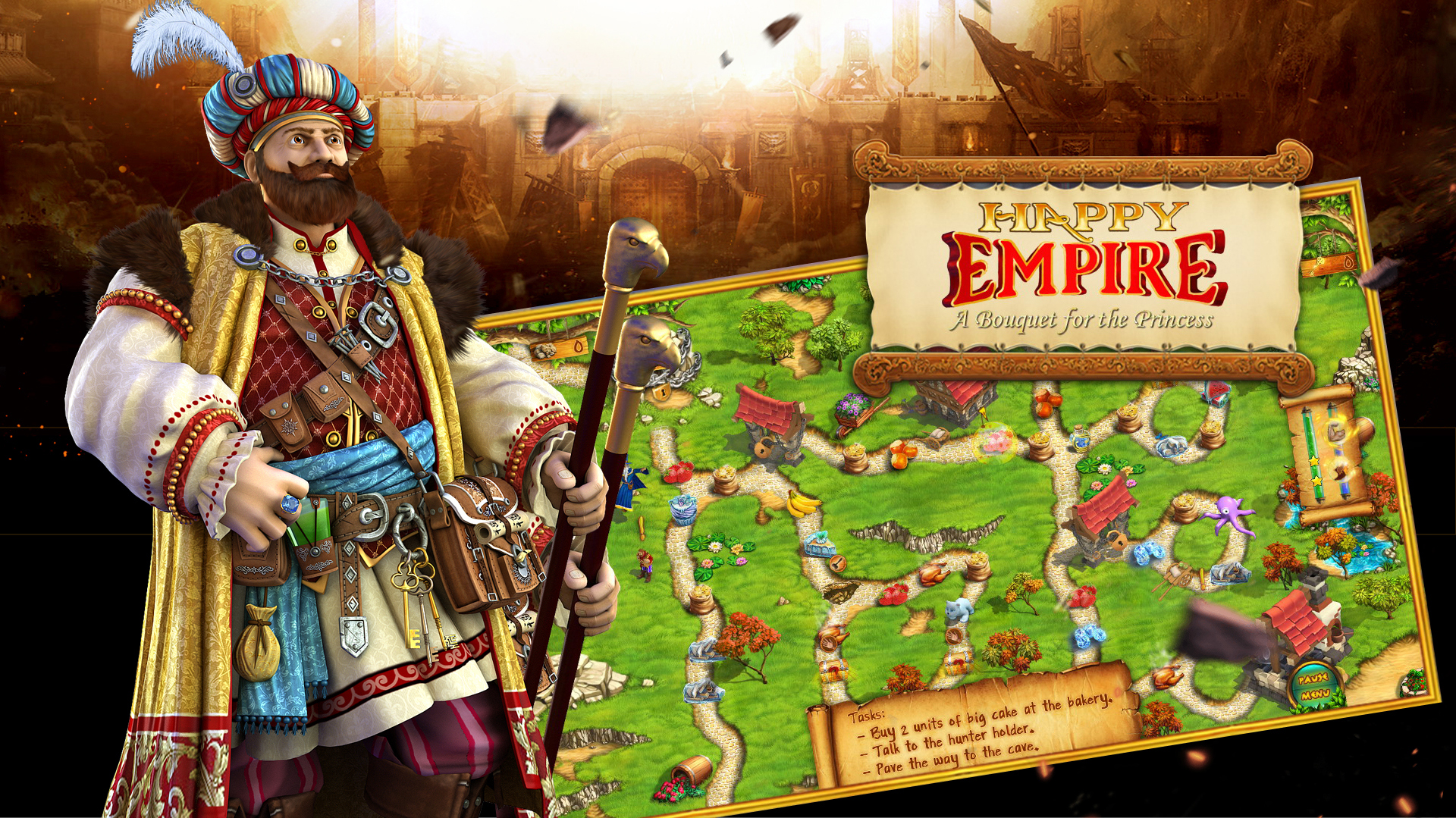 Редизайн маркетинговых скриншотов страницы казуальной игры фото f_6815b23362950846.jpg