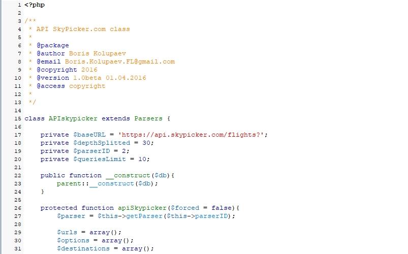 Kiwi.com [ex SkyPicker.com]: Решение для информационного сервиса / API, PHP, BigData