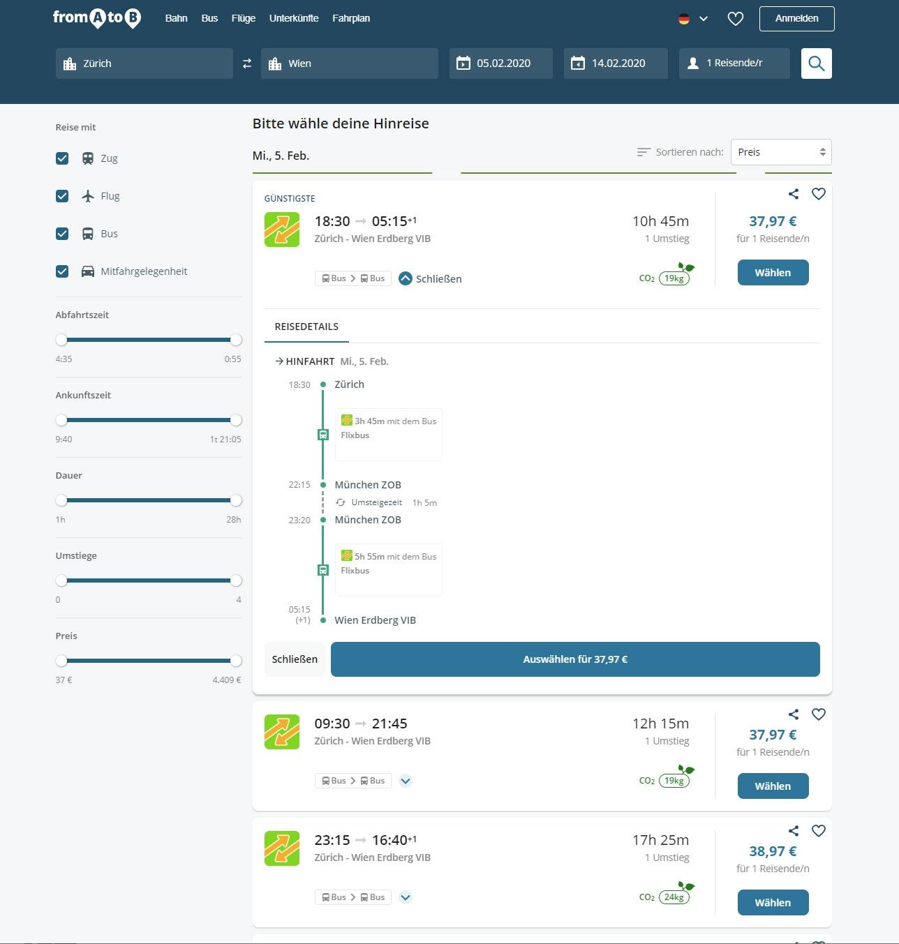 FromAtoB.com: Решение для сервиса расчета маршрутов / Парсинг, ZennoPoster, API