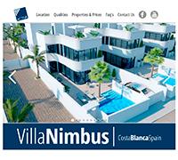 HTML/CSS/jQuery: Рекламный лендинг по продаже коттеджей на юге Испании