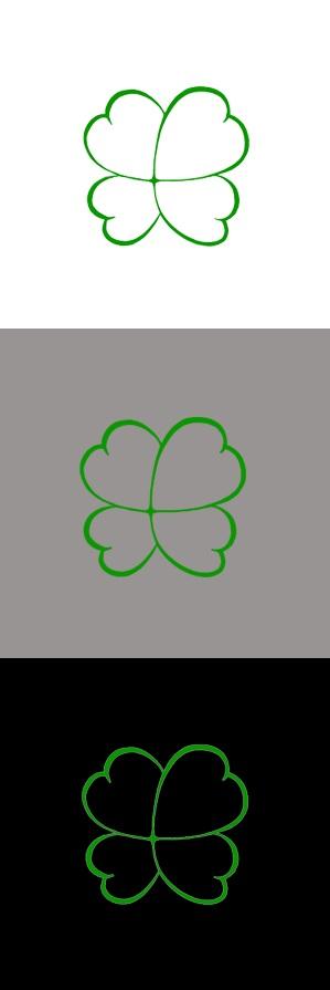 Разработка логотипа  TRIUMPH MEDIA с изображением клевера фото f_507318c0ddcbb.jpg