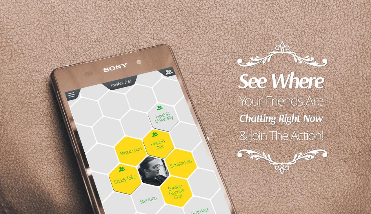 HiveMii – чат приложение