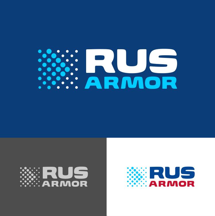 Разработка логотипа технологического стартапа РУСАРМОР фото f_3775a0f458a618f9.png