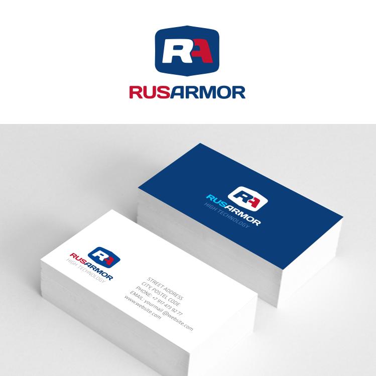Разработка логотипа технологического стартапа РУСАРМОР фото f_4225a0f4d965edcf.png