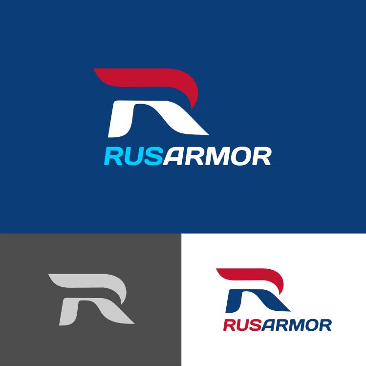 Разработка логотипа технологического стартапа РУСАРМОР фото f_9545a0f45983fdc8.png