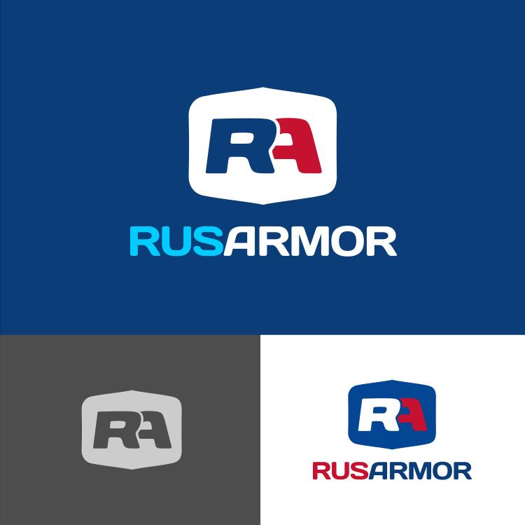 Разработка логотипа технологического стартапа РУСАРМОР фото f_9615a0f43c68d1ea.png